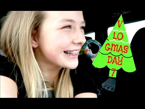 Brailee Got Braces!! VLOGMAS DAY7!!🎄