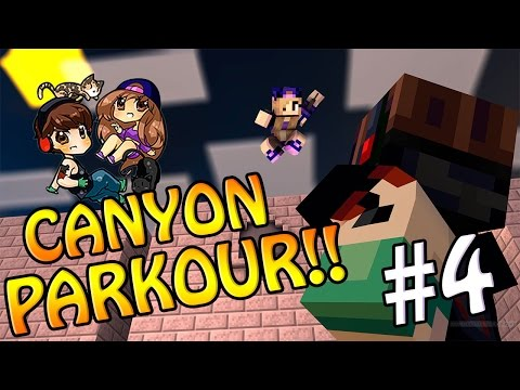 Minecraft: Canyon Parkour - Extremely Jard!!!