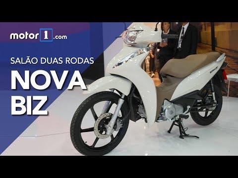 Salão Duas Rodas: Nova Honda Biz 2018