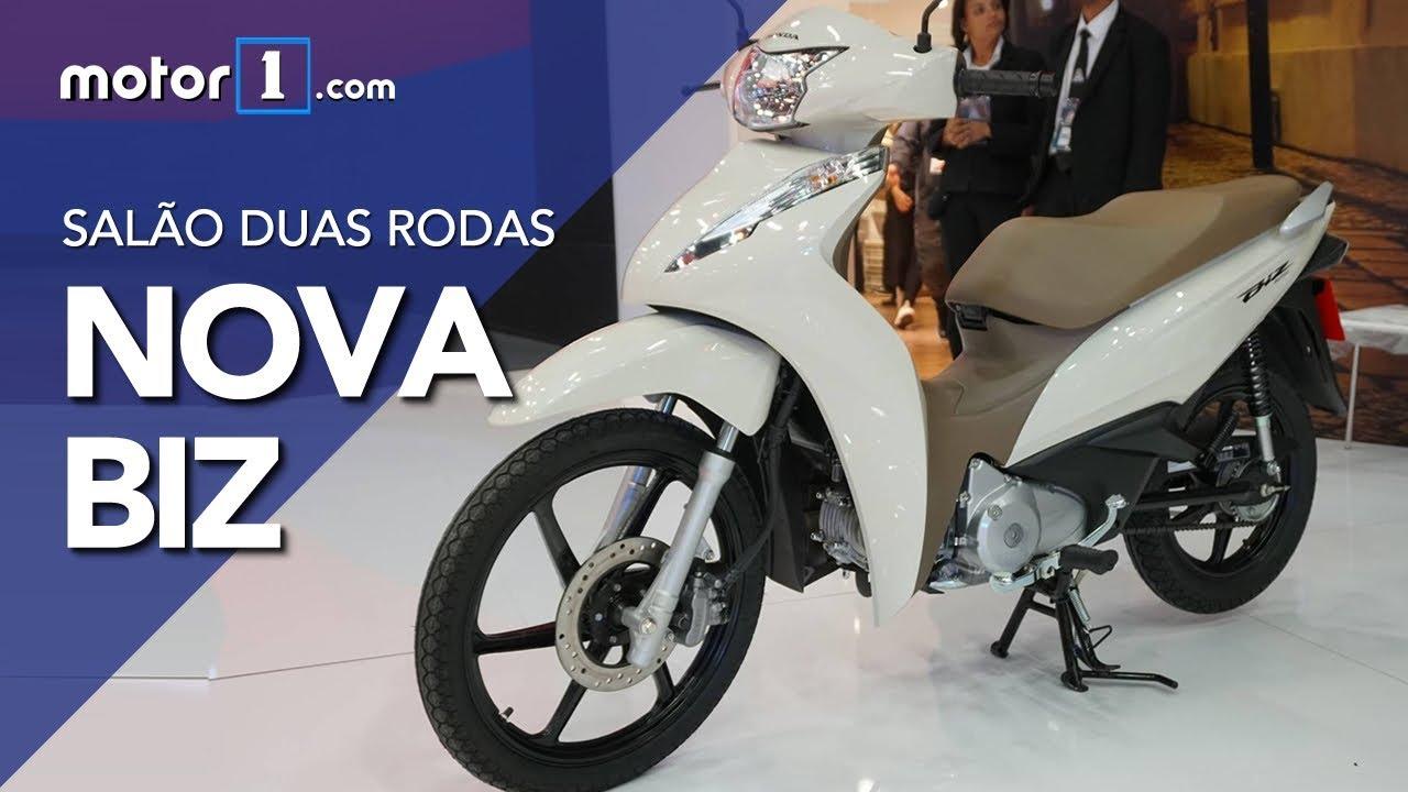 Salão Duas Rodas Nova Honda Biz 2018
