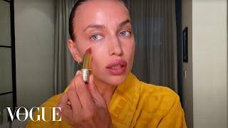 Ирина Шейк о ежедневном уходе натуральном тоне и макияже для зеленых глаз Vogue Россия
