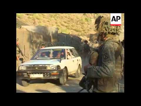 US troops fight Taliban militants, search for weapons in caves