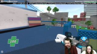 2016-10-23 - 24 Ore Stream - Rustyfoxes Giocare Roblox [Mad Paintball 2] (Parte 27)