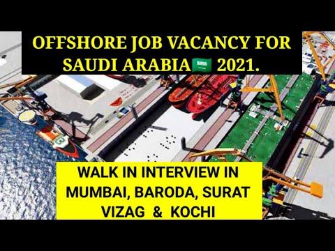 Latest Offshore job vacancy for Saudi Arabia 2021 // Marine and shipyard project jobs // Saudi jobs.