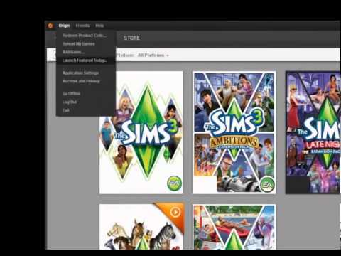 How to Download games From Origin