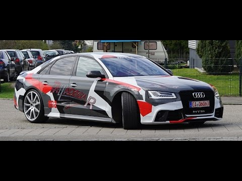4k Review Mtm S8 Talladega R Audi S8 On Autobahn It Is All Out 320 Kmh 200 Mph Gps