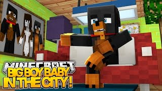 BIG BOY BABY - IN THE CITY - Minecraft - Little Baby Max