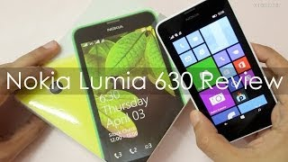 Nokia Lumia 630 Review -  A Windows Phone 8.1