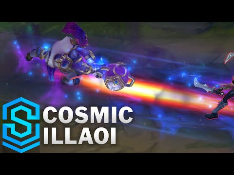 Cosmic Illaoi Skin Spotlight - Pre-Release - League of Legends