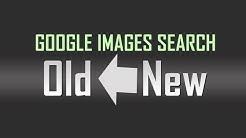 Switch back to old classic Google Images Search layout