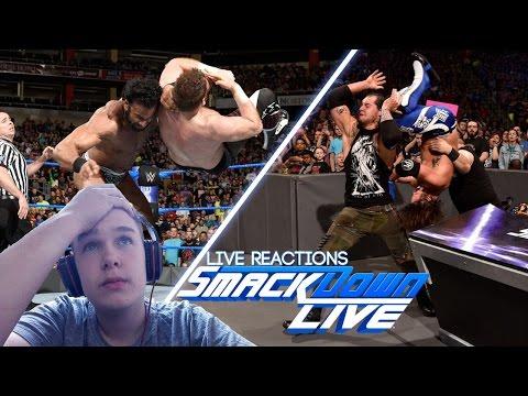 ENTTÄUSCHUNG! | WWE SmackDown Live 04/18/2017 Live Reactions [Deutsch / German] | [adrian]