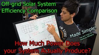 Off-grid Solar Power System Comparison: Common Efficiency Losses and Bottlenecks!