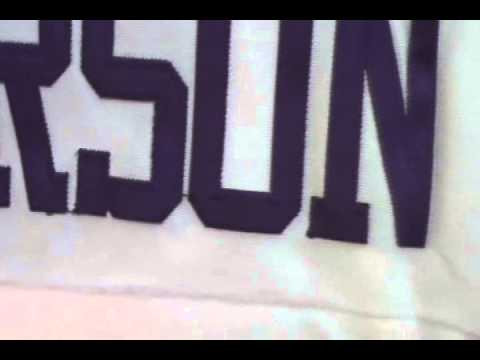 Nike Minnesota Vikings 28 Adrian Peterson Game White Jersey