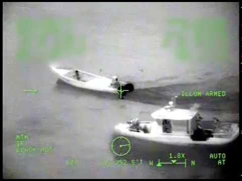 Smugglers dump 1,800 lbs of cocaine during chase by Coast Guard