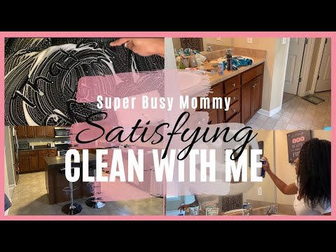 SUPER BUSY WORK FROM HOME MOM QUARANTINE CLEANING MOTIVATION|EXTREMELY SATISFYING !