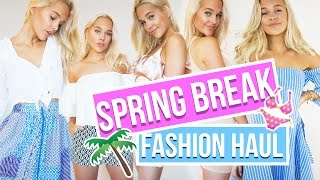 Spring Break Outfit Ideas | Shein Try-on Haul