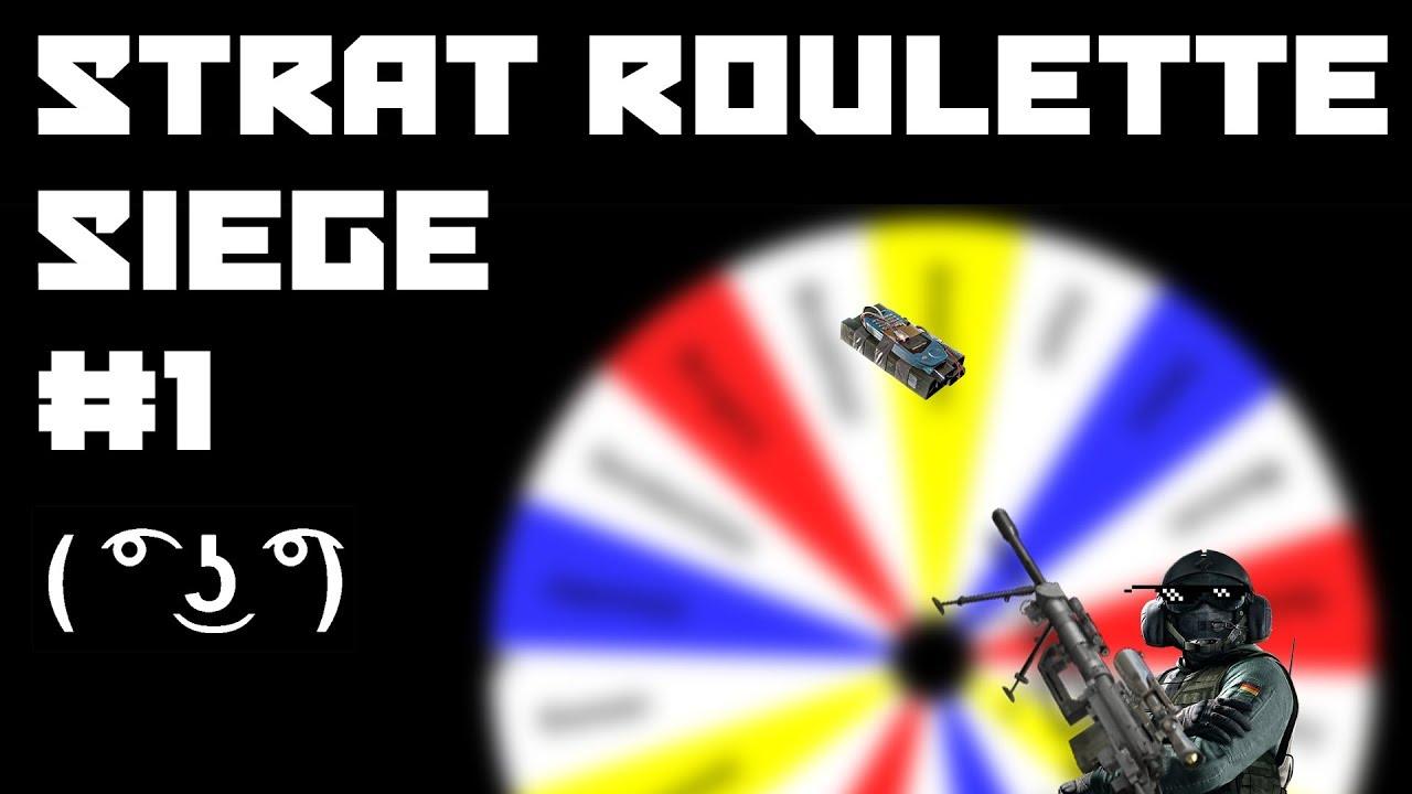 Strat Roulette Siege - #1 (Rainbow Six Siege - Phantom Sight)