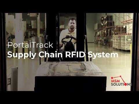 PortalTrack - Supply Chain RFID System
