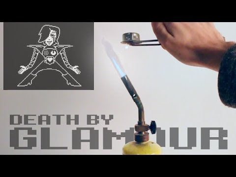 Undertale - Death By Glamour with propane tank and flint 🔥