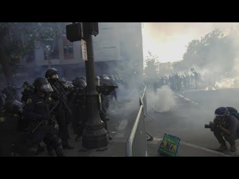 OPD body camera video shows release of tear gas after youth rally