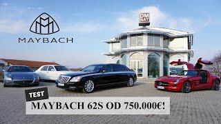 Specijal: Maybach 62S od 750.000€ - Dvorac na točkovima! (English Subtitles)