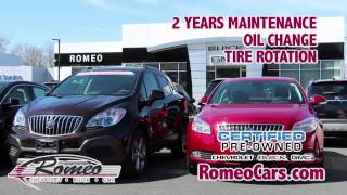 Pre-Owned and Certified in April - Romeo Chevrolet Buick GMC