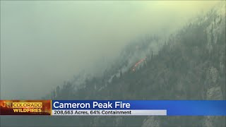 The Cameron Peak Fire Is Now 64% Contained With Over 208,000 Acres Burned