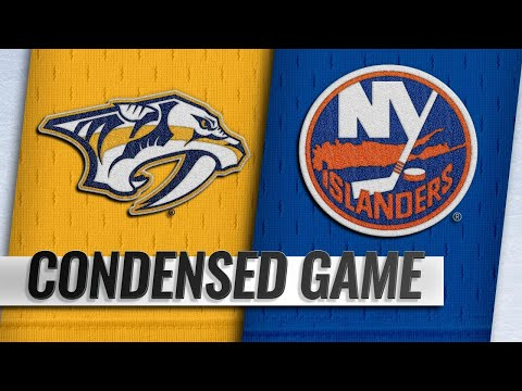 10/06/18 Condensed Game: Predators @ Islanders