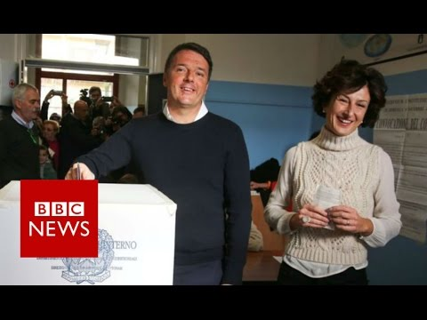 Italy referendum: PM Renzi's future in the balance - BBC News