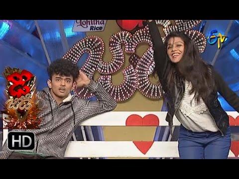Sanketh,Priyanka Performance   Dhee Jodi   14th December 2016   ETV Telugu