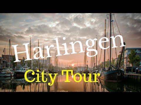 Harlingen (Harns), Friesland (Fryslân), The Netherlands (City Tour) GoPro