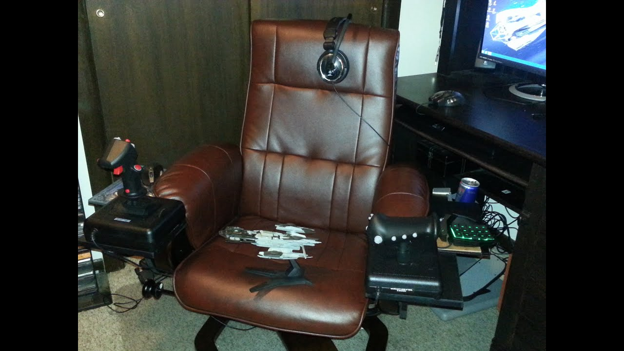 Hotas Command Chair Tour Youtube