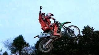 Tandem Dirt Bike Jumping