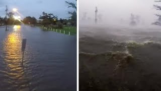 10 feet of Ida's storm surge drowns Frenier Landing in LaPlace