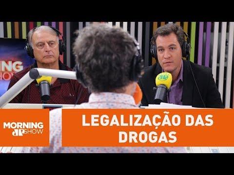 Ex-capitão Da ROTA Se Diz Contrário à Legalização Das Drogas
