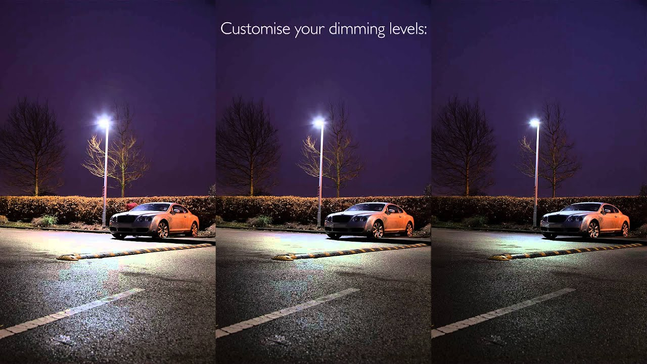 Sensor Street Lights Demonstration - YouTube