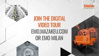 Discover more with Mazak at EMO Milano 2021