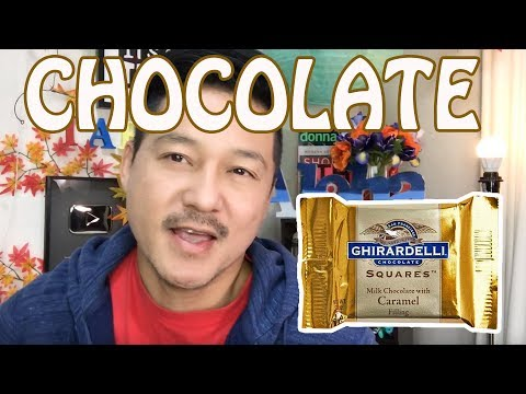 Trying Ghirardelli Chocolate Squares