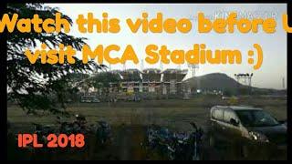 Travel Ep - 7, Explore IPL match at MCA stadium Pune