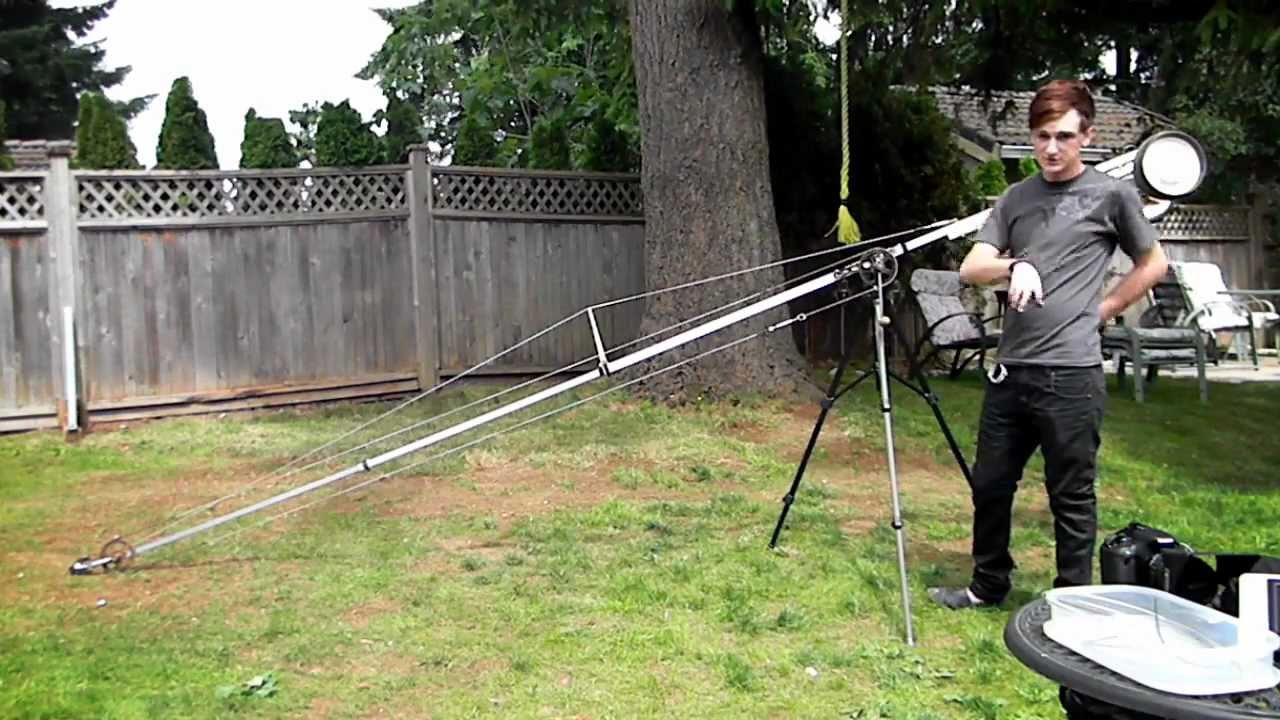 How to build a camera crane youtube for Make a crane