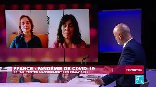 """Coronavirus : """"En France, les outils existent pour réaliser des tests à grande échelle"""""""