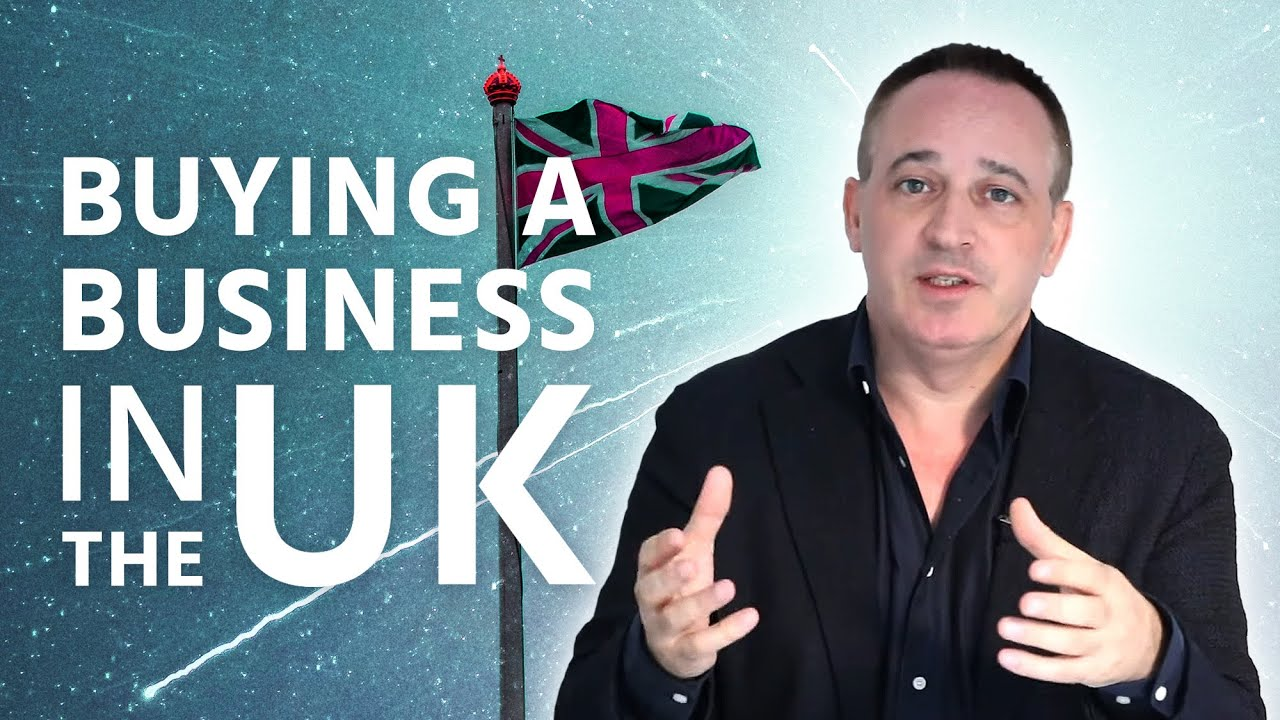 How To Buy A Business In the UK - Jonathan Jay