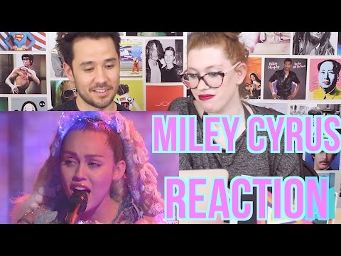 Thumbnail: MILEY CYRUS - Cries during Twinkle Song - REACTION - Live on SNL