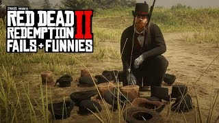 Red Dead Redemption 2 - Fails & Funnies #42