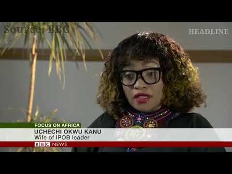 "2019: The Moment Kanu's Wife Said ""No Nnamdi Kanu, No Vote"" (Watch Video)"