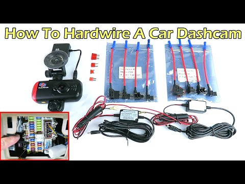 How To Hardwire A Car Dash Camera With Parking Mode