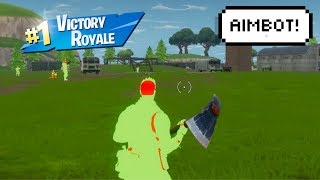 So We Installed AIMBOT in FORTNITE