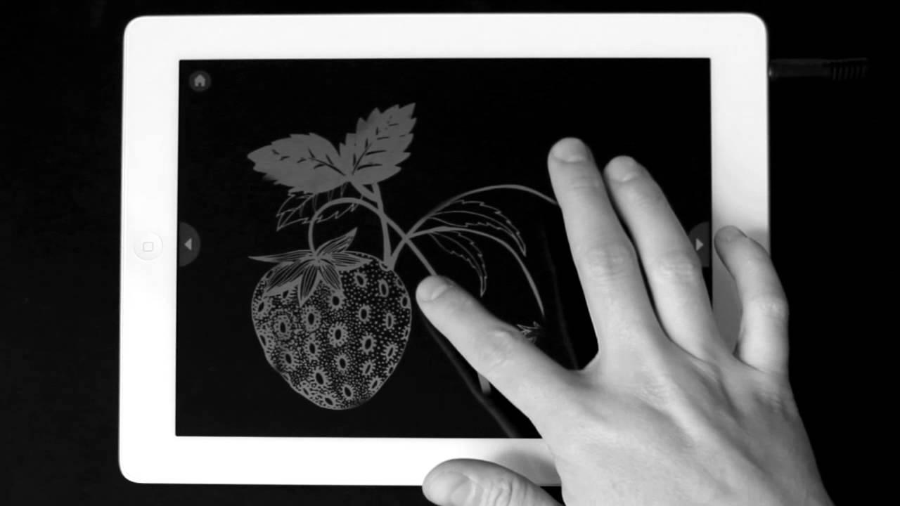 El libro negro de los colores para iPad - YouTube