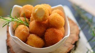 Kahvaltılık  Topik Peynir  Topları ( Dışı çıtır,içi yumuşacık bir lezzet)