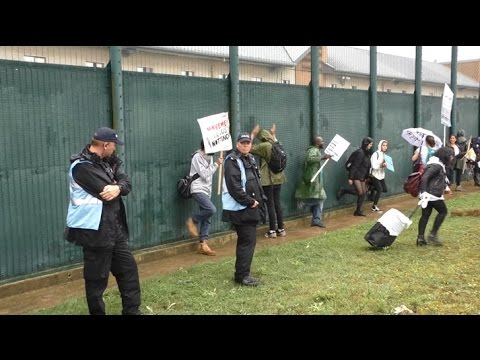 """Shut down Yarl's Wood!"" Detention of migrants under attack in Britain"